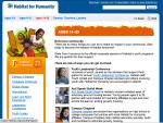 2011 Habitat Youth Programs age 14-25 landing page on Habitat.org